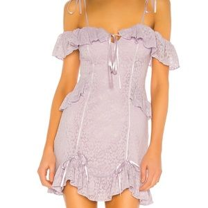 Majorelle Lilac Frost Stretch Lace mini. Xs